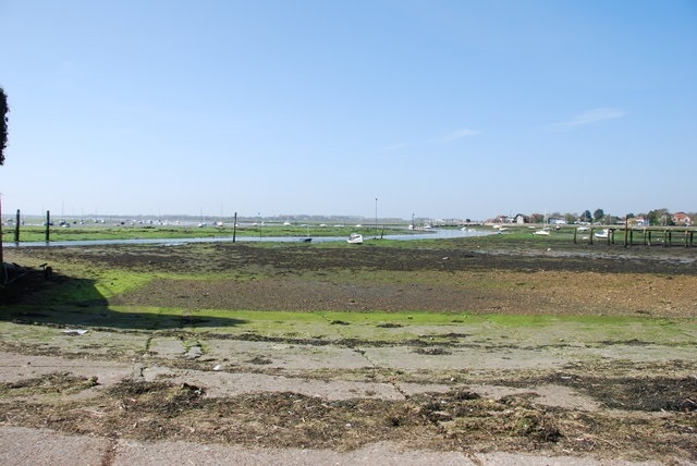 The view across Chichester Harbour from Emsworth
