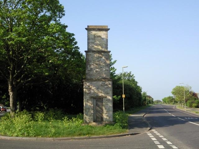 A roadside folly in Gosport