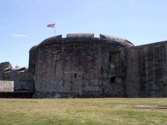 Hurst Castle exterior