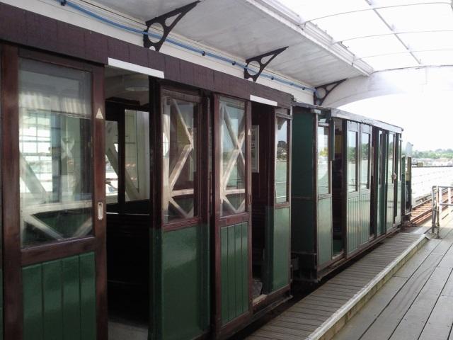 The Hythe Pier train