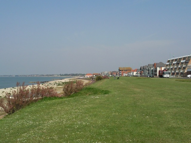 Lee-on-the-Solent, looking north.