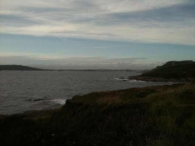 Plymouth Sound from near Renney Rocks