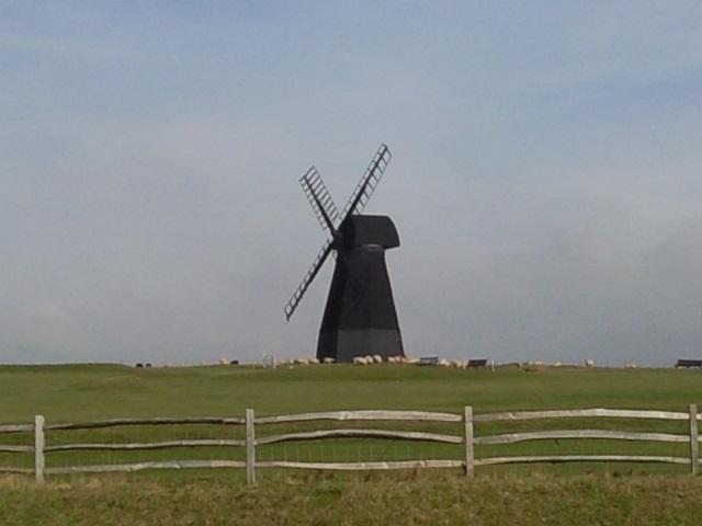 Rottingdean's black windmill