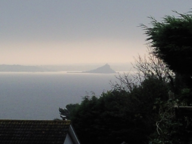 St Michael's Mount from Chywoone Hill