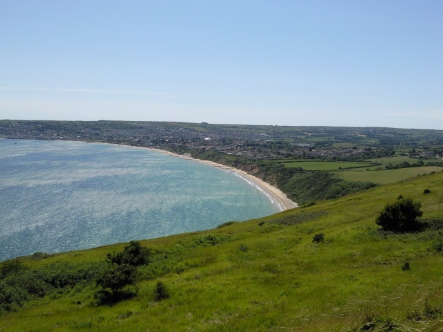 Swanage Bay overlooked from Ballard Down
