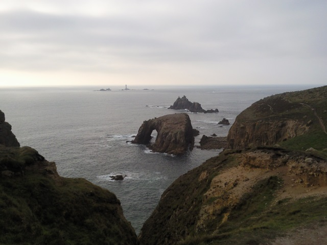 Enys Dodnan, the Armed Knight and the Longships