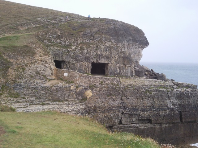 Tilly Whim Caves - square-mouthed former quarry galleries