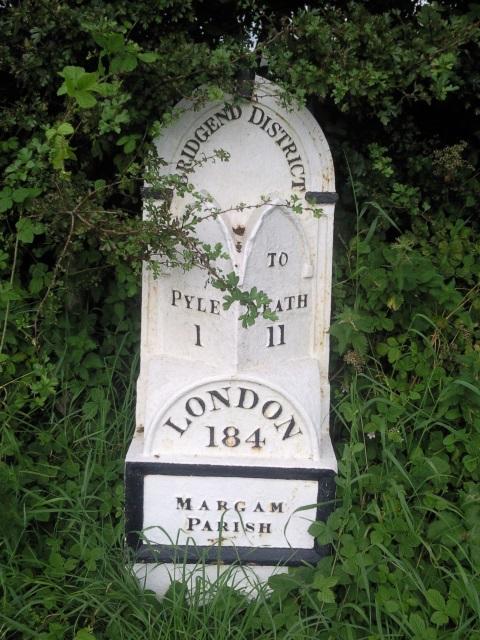 Milestone: Pyle 1. Neath 11. London 184