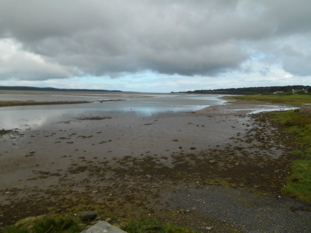 Afon Cefni, looking downstream from Malltraeth Cob