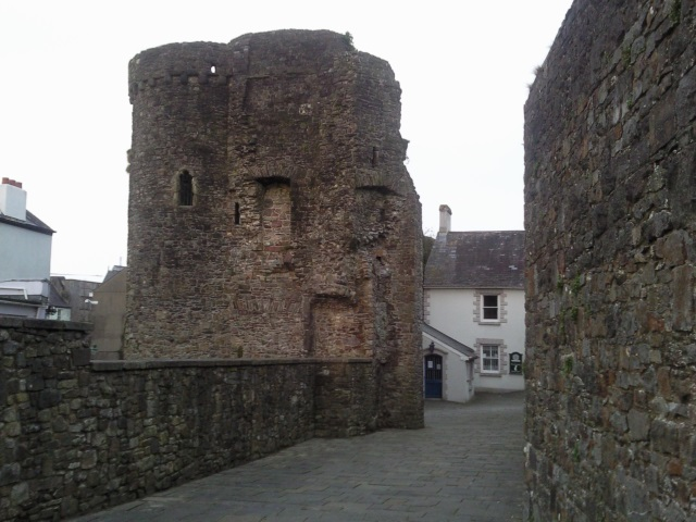 Carmarthen Castle Keep