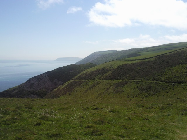 The view ahead on Foreland Point