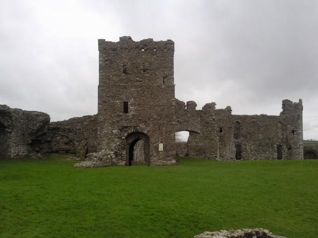Upper Ward of Llansteffan Castle