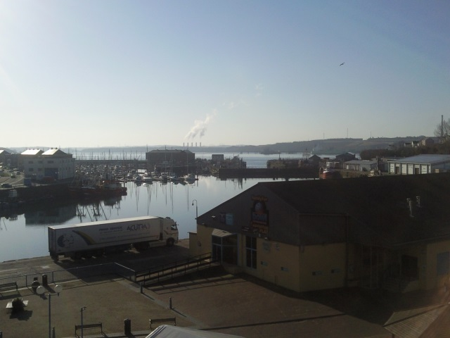 Milford Haven harbour