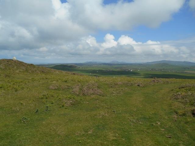 View from Mynydd Anelog