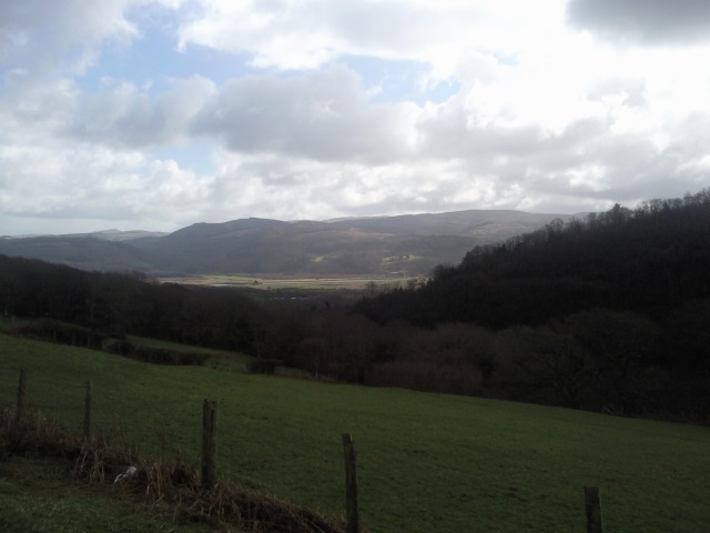 View from Mynydd y Llin