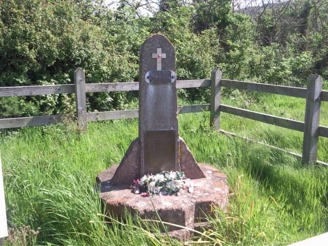 Porlock Aircrash Memorial.