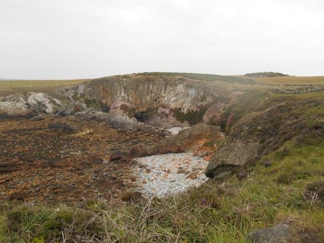 Rocks near Rhoscolyn Head