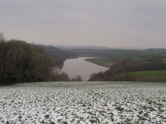 The Towy, as seen from Pentrecwm