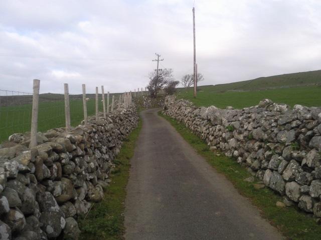 Lane near Llwyngwril