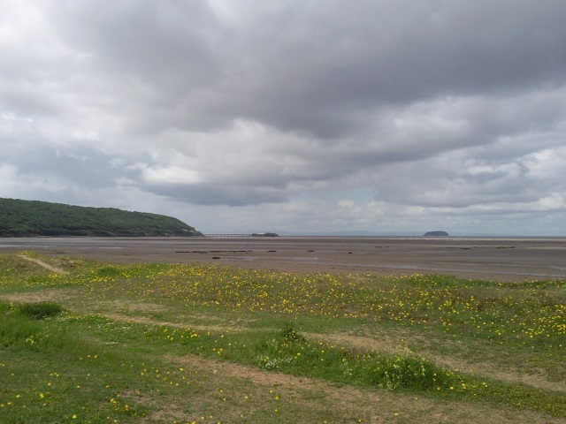 View from Sand Bay Beach back towards Anchor Point