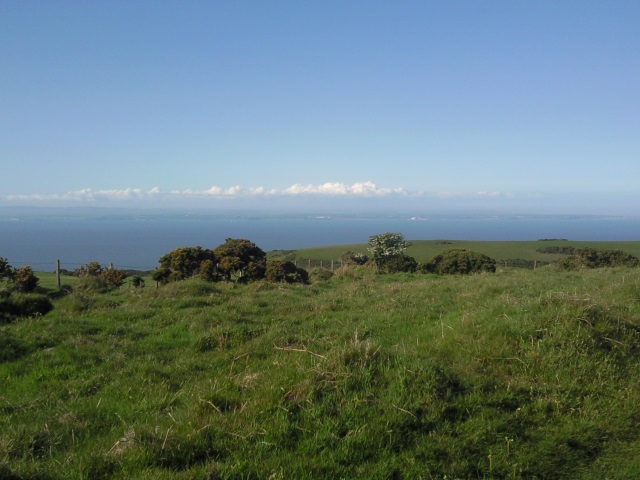 Wales, a sseen from Selworthy Beacon