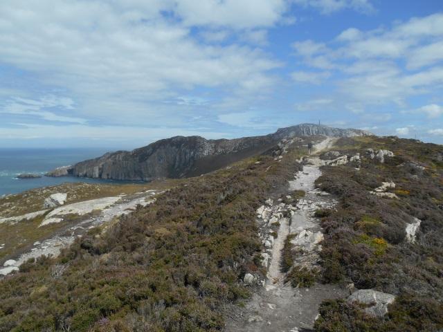 Path to Holyhead Mountain