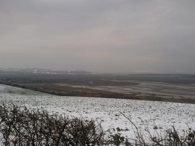 Gwendraeth Estuary, as seen from Parc Cwm