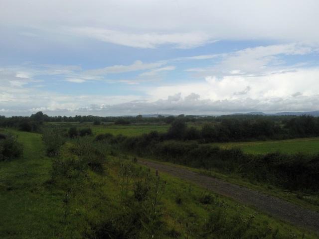 View towards Newport