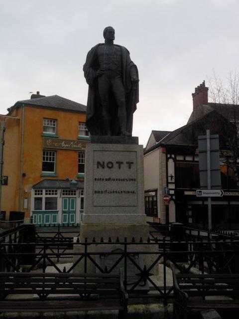 Statue of William Nott