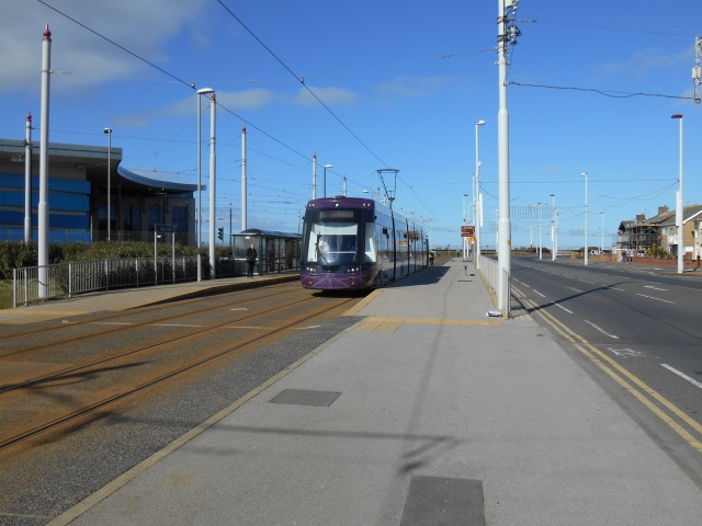 Flexity 2 tram at Starr Gate tram stop
