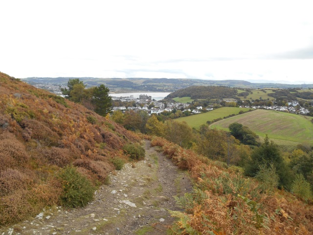 Conwy as seen from Conwy Mountain