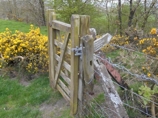 Gate at Crag Cottage