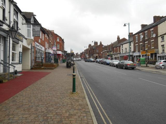 Kirkham town centre
