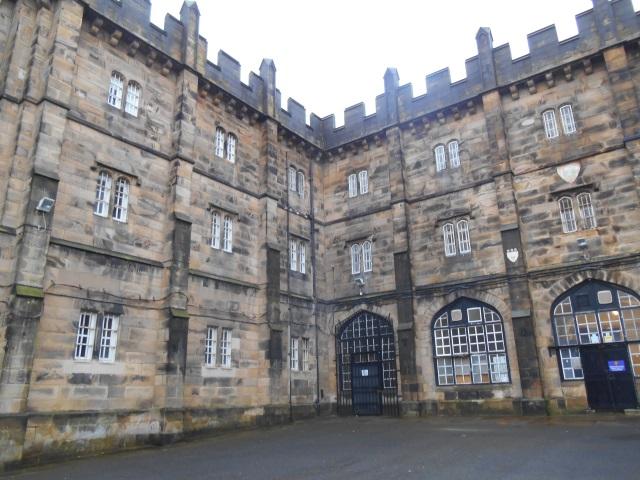 Former prison at Lancaster Castle