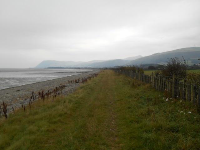 Path past Lavan Sands