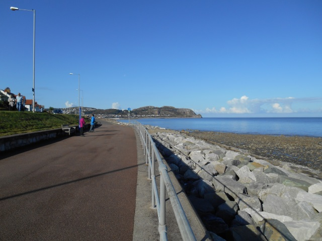 The Little Orme as seen from Rhos Point
