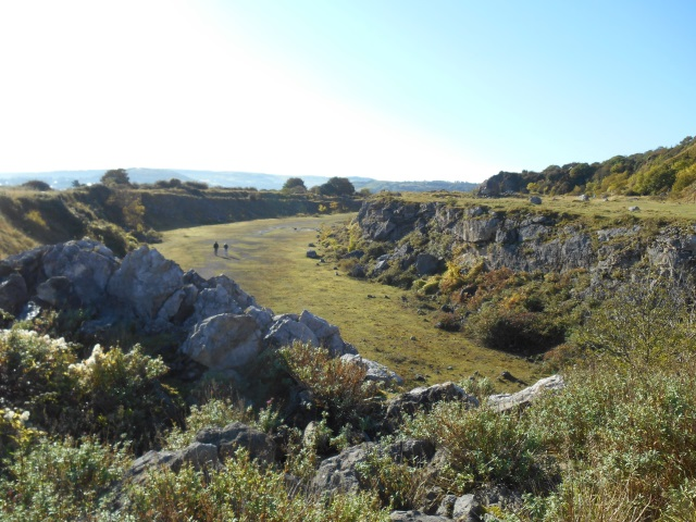 Quarry galleries on the Little Orme