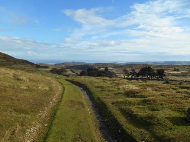 Path round Craig Hafodwen