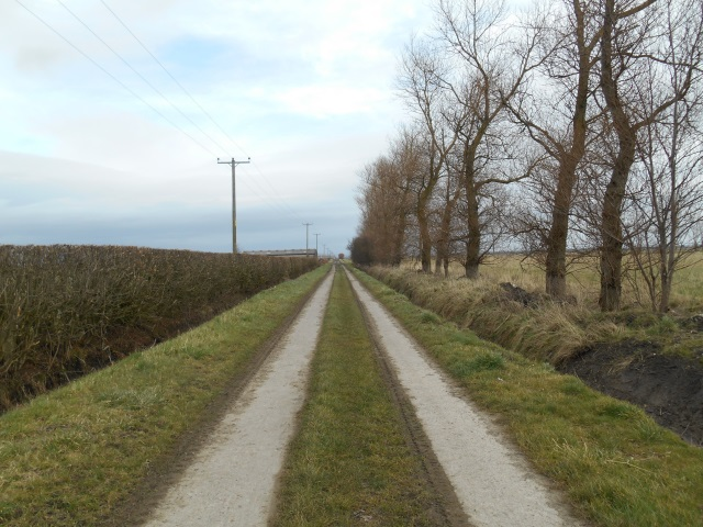 Track to Ribble Bank Farm