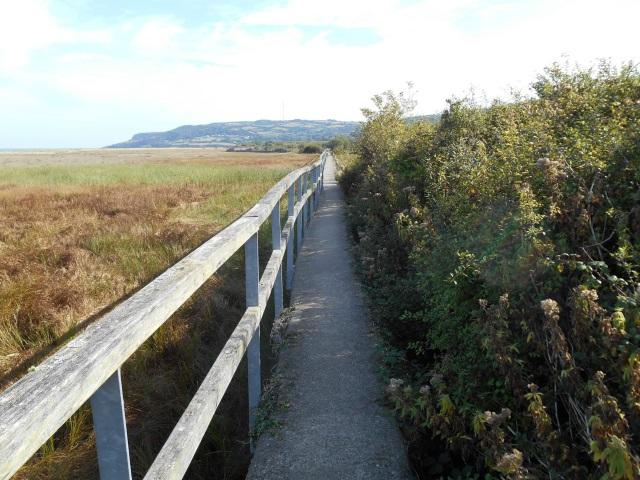 Wall Path through Red Wharf Bay