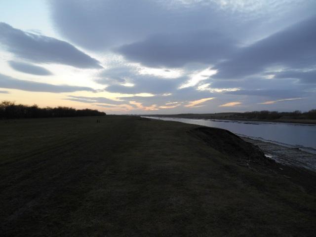 Sunset over the Ribble Estuary