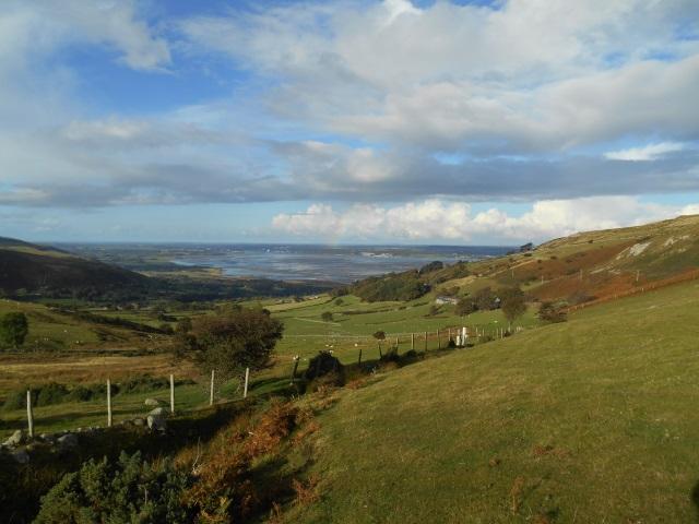View over Llanfairfechan