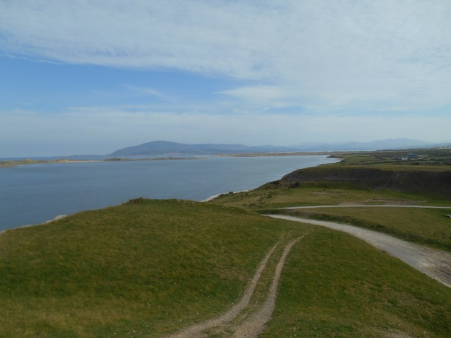 View up the coast from near Ormsgill