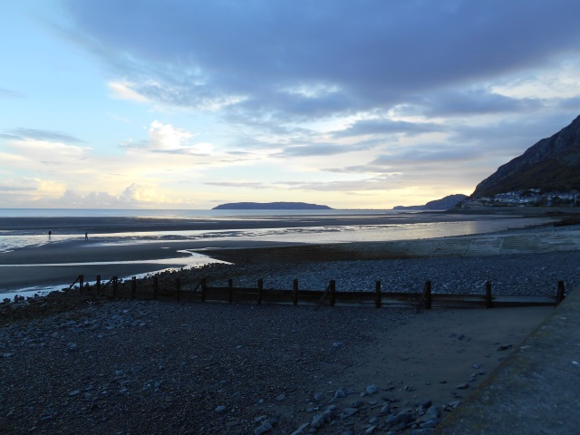 View from Llanfairfechan Beach