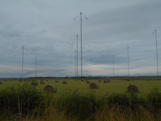 Anthorn radio masts