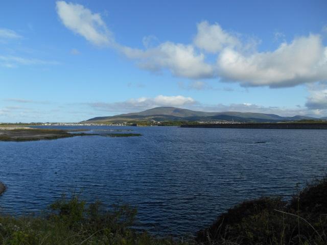 Black Combe across Hodbarrow Lagoon