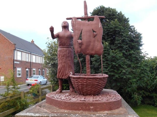 St Bega Sculpture