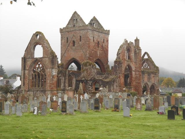 Sweetheart Abbey ruins