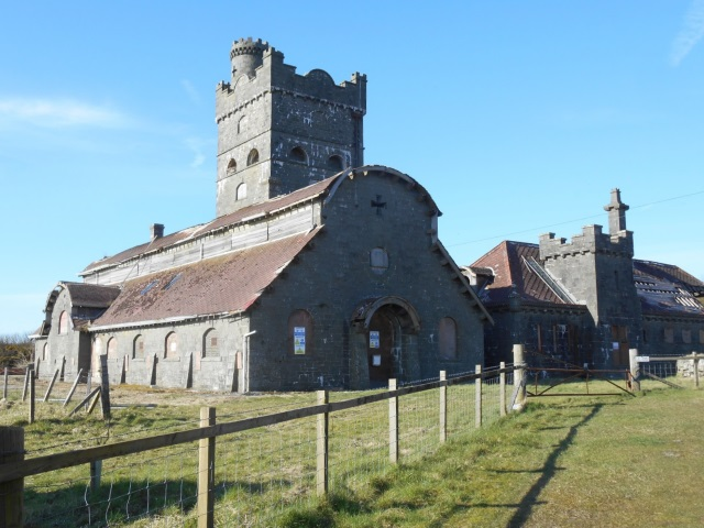 The Coo Palace - a cow shed that looks like a castle