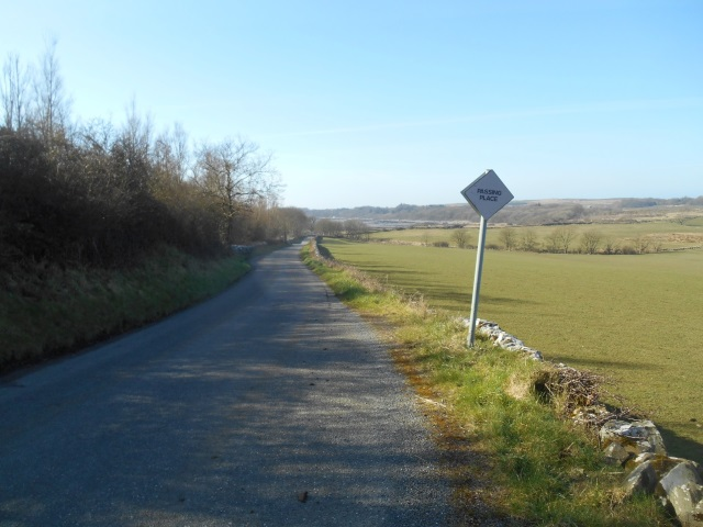 Single track road to Brighouse Bay